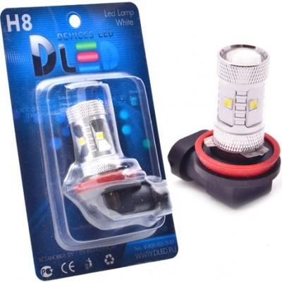 Светодиодная авто лампа H8 - 6 EPISTAR 30Вт DLED