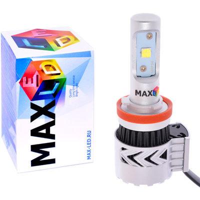 Светодиодная авто лампа H11 - Max-Firefly 4 CREE 45Вт