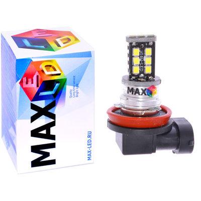 Светодиодная авто лампа H8 - Max-Hill 15 Led 15Вт