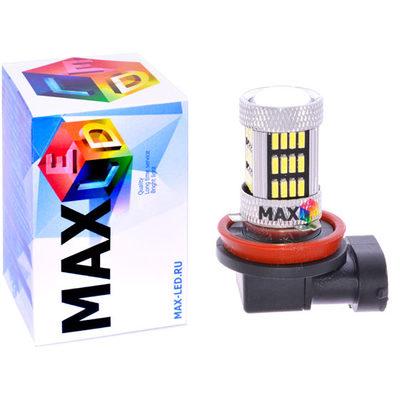 Светодиодная авто лампа H8 - Max-Visiko 54 Led 11Вт
