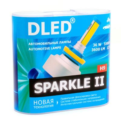 Светодиодная авто лампа H9 - Sparkle 2 36Вт