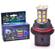 Светодиодная авто лампа HB1 9004 - 27 SMD 5050 6.48Вт DLED