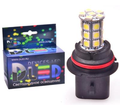 Светодиодная авто лампа HB1 9004 - 27 SMD 5050 6.48Вт