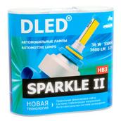 Светодиодная авто лампа HB3 9005 - Sparkle 2 36Вт