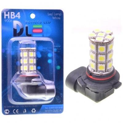 Светодиодная авто лампа HB3 9005 - 27 SMD5050 6.48Вт DLED