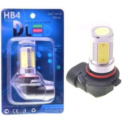 Светодиодная авто лампа HB3 9005 - 5 High-Power 7.5Вт DLED