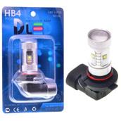 Светодиодная авто лампа HB4 9006 - 6 CREE 30Вт DLED
