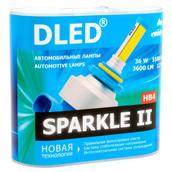 Светодиодная авто лампа HB4 9006 - Sparkle 2 36Вт
