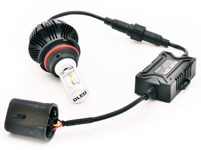 Светодиодная авто лампа HB5 9007 - ZES 20Вт DLED