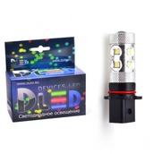 Светодиодная авто лампа P13W - 10 CREE 50Вт DLED