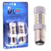 Светодиодная авто лампа W21W 7440 - 16 EPISTAR 80Вт Белая