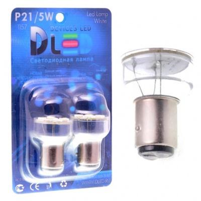 Светодиодная авто лампа P21/5W 1157 - 6 SMD5050 1.44Вт Белая