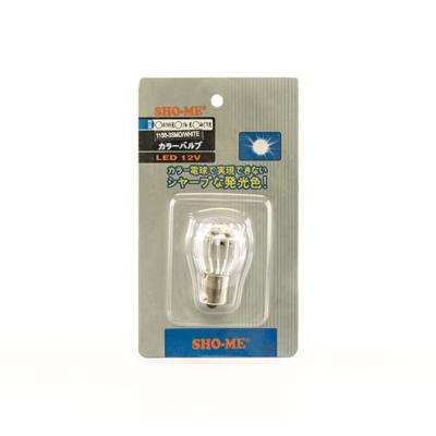 Светодиодная авто лампа P21/5W 1157 - SHO-ME 1157 - 3SMD - 3W Белая