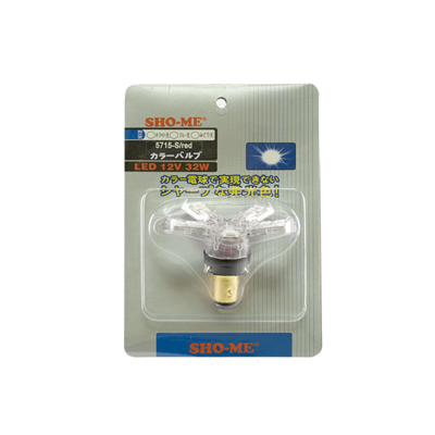 Светодиодная авто лампа P21/5W 1157 - SHO-ME 1157 - 5715 S - 32W Белая