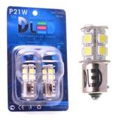 Светодиодная авто лампа P21/5W 1157 - 13 SMD5050 3.12Вт Жёлтая