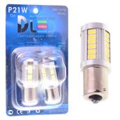 Светодиодная авто лампа P21W 1156 - 33 SMD5630 13.2Вт Белая
