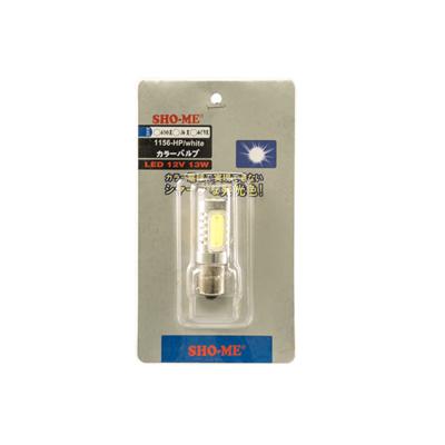 Светодиодная авто лампа P21W 1156 - SHO-ME 1156-HP-6W Белая