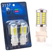 Светодиодная авто лампа P27W 3156 - 33 SMD5630 13.2Вт Белая