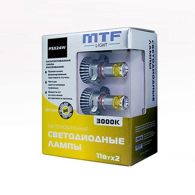Светодиодная авто лампа PSX24W -  3000K 11Вт MTF