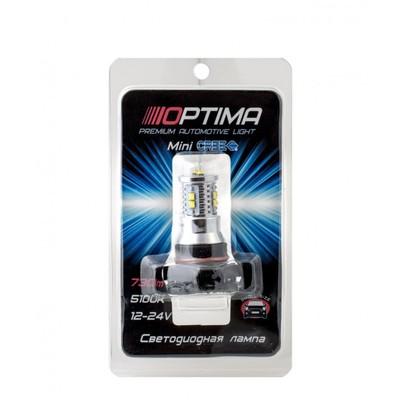 Светодиодная авто лампа PSX24W - Optima Premium MINI CREE XB-D CAN 50W 5100К Белая