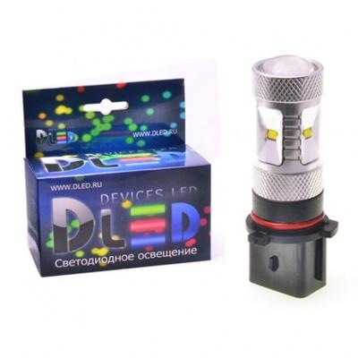 Светодиодная авто лампа PSX26W - 6 EPISTAR 30Вт DLED