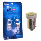 Светодиодная авто лампа T4W BA9S - 1 SMD5050 0.24Вт Белая