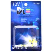 Светодиодная авто лампа T5 – 1 COB 360 1Вт Белая