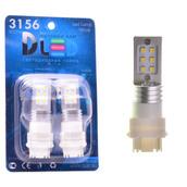 Светодиодная авто лампа W21W 7440 - 12 SAMSUNG 12Вт Белая