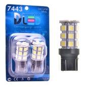 Светодиодная авто лампа W21W 7440 - 27 SMD5050 6.48Вт Красная
