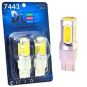 Светодиодная авто лампа P27W 3156 - 5 High-Power 7.5Вт Белая