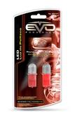 Светодиодная авто лампа W5W T10 – 1 DIP EVO FORMANCE Красная