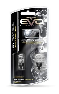 Светодиодная авто лампа W5W T10 – 2DIP EVO FORMANCE