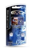 Светодиодная авто лампа W5W T10 – 1W EVO FORMANCE Синяя