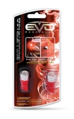 Светодиодная авто лампа W5W T10 – 1W EVO FORMANCE Красная