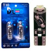 Светодиодная авто лампа W5W T10 – Osram SMD 3Вт Белая