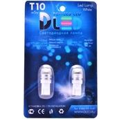 Светодиодная авто лампа W5W T10 – SMD Линза 2.5Вт Белая