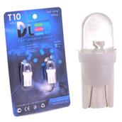 Светодиодная авто лампа W5W T10 – 1 Dip Led Капля 0.1Вт Белая