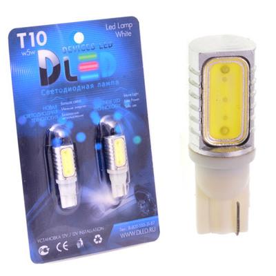 Светодиодная авто лампа W5W T10 – 1 HP Односторонняя 1.5Вт Белая
