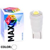 Светодиодная авто лампа W5W T10 – 1 Max-Ceramic Power 5Вт Белая