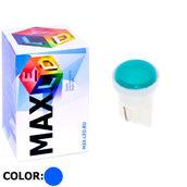 Светодиодная авто лампа W5W T10 – 1 Max-COB 1Вт Синяя