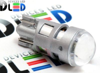 Светодиодная авто лампа W5W T10 – 1 SMD3030 3Вт