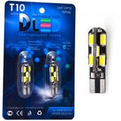 Светодиодная авто лампа W5W T10 – 12 SMD5630 4.2Вт Белая