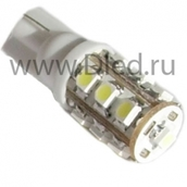 Светодиодная авто лампа W5W T10 – 13 SMD3528 1.04Вт Белая