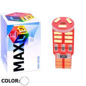 Светодиодная авто лампа W5W T10 – Max-Visico 15Led 3Вт Белая