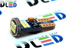 Светодиодная авто лампа W5W T10 – 18 SMD2016 + Обманка 1.8Вт Белая