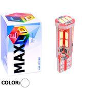 Светодиодная авто лампа W5W T10 – Max-Visico 19Led 4Вт Белая