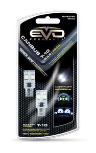 Светодиодная авто лампа W5W T10 –2 EVO FORMANCE CАNBUS