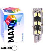 Светодиодная авто лампа W5W T10 – Max-Hill 24Led 4Вт Белая