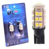 Светодиодная авто лампа W5W T10 – 25 SMD3528 2Вт Белая