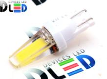 Светодиодная авто лампа W5W T10 – 2COB 2Вт Белая